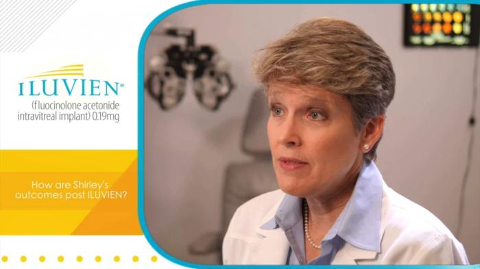 3 year ILUVIEN patient case study by Nancy Holekamp, MD - video thumbnail